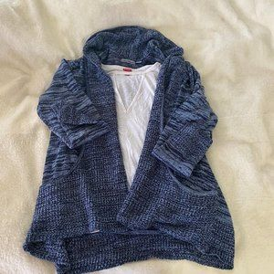 Cozy Blue Cardigan